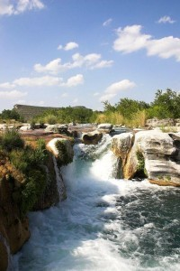 Kayak Camping in Texas - Dolans Falls on Devils River