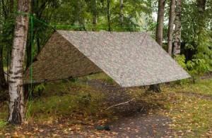 Emergency Tarp Shelter