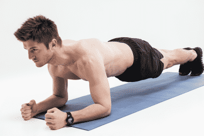 planks to build your core muscles